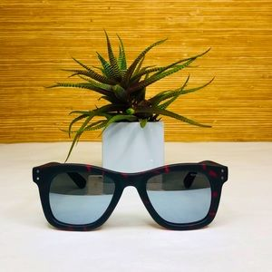 KOMONO Allen Beetroot Tortoise Sunglasses 🕶(NEW)